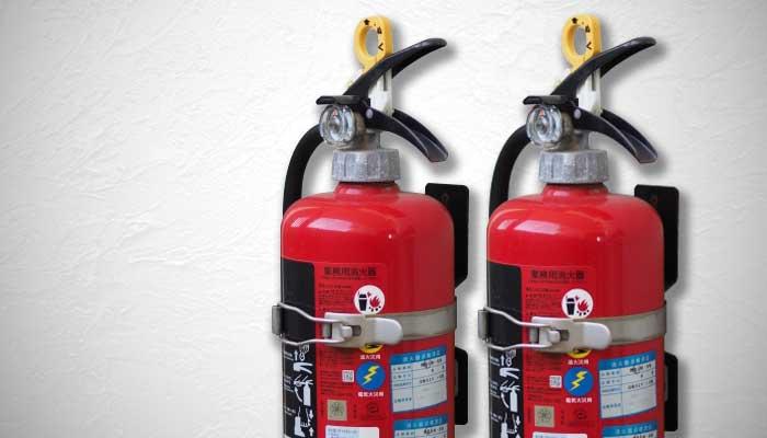 大阪府大東市の電気設備工事、消防設備工事、空間設備業の株式会社恒星エンジニアの消防設備工事の消化設備